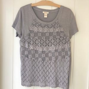 Sundance Jessamine Top in Medium Gray